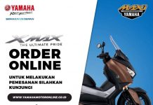 Yamaha XMAX Order Online Day 10 Desember 2017