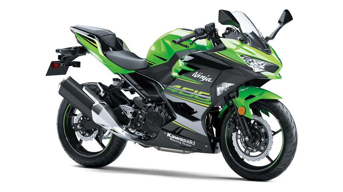 Kawasaki Ninja 400 FI KRT Edition LIME GREEN EBONY USA