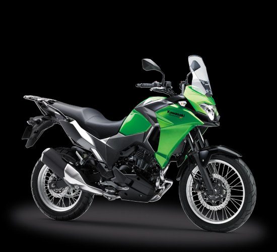 Kawasaki versys-X 250 City Version warna hijau