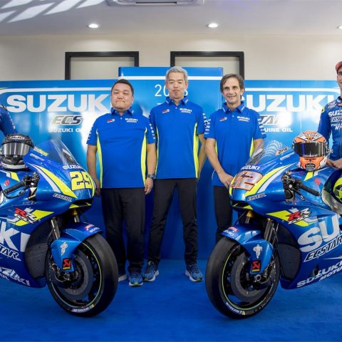 Launching Suzuki Ecstar Team 2018 GSX-RR 001