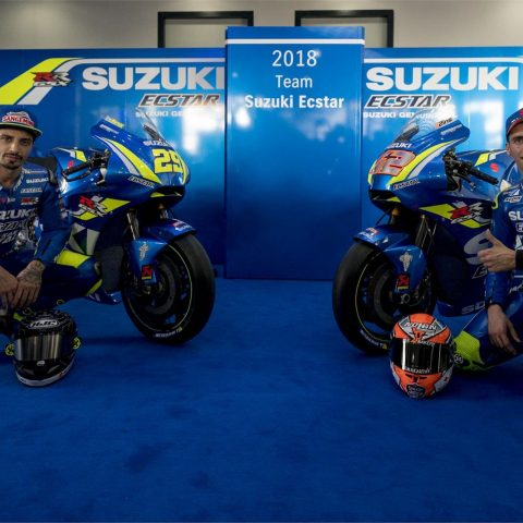 Launching Suzuki Ecstar Team 2018 GSX-RR 002