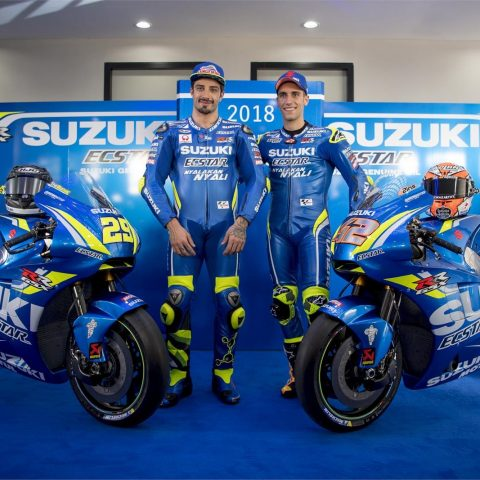 Launching Suzuki Ecstar Team 2018 GSX-RR 003