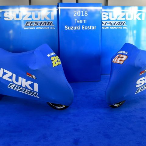 Launching Suzuki Ecstar Team 2018 GSX-RR 009