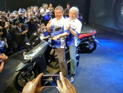 Launching Yamaha Lexi VVA Indonesia