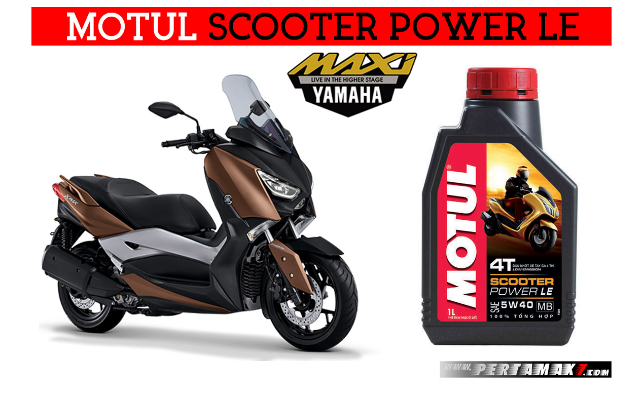 Motul Scooter Power LE Yamaha XMAX 250