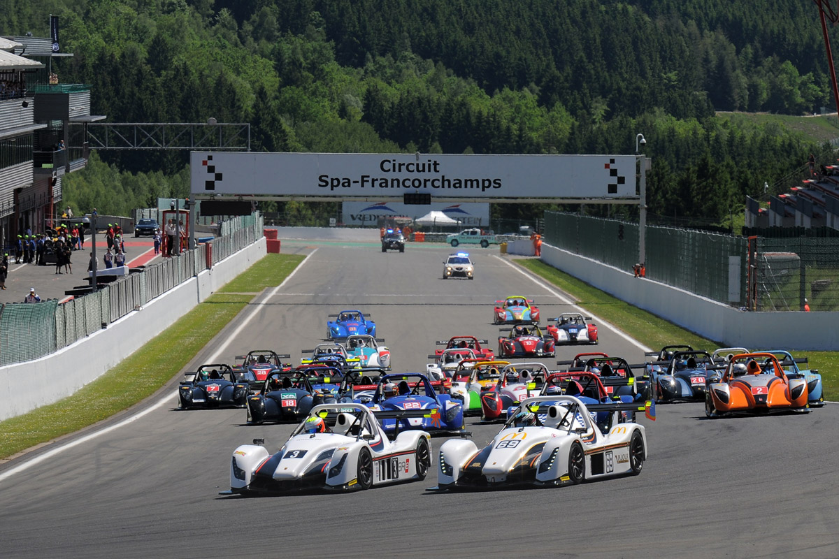 Radical Challenge & European Masters round at Spa_ 2017 Francorchamps @ Radical