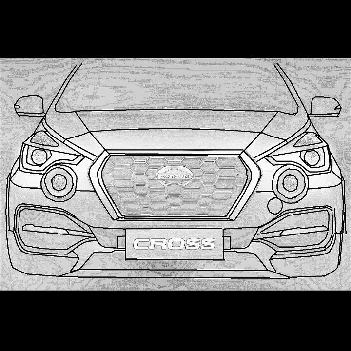 Sketsa Datsun Cross