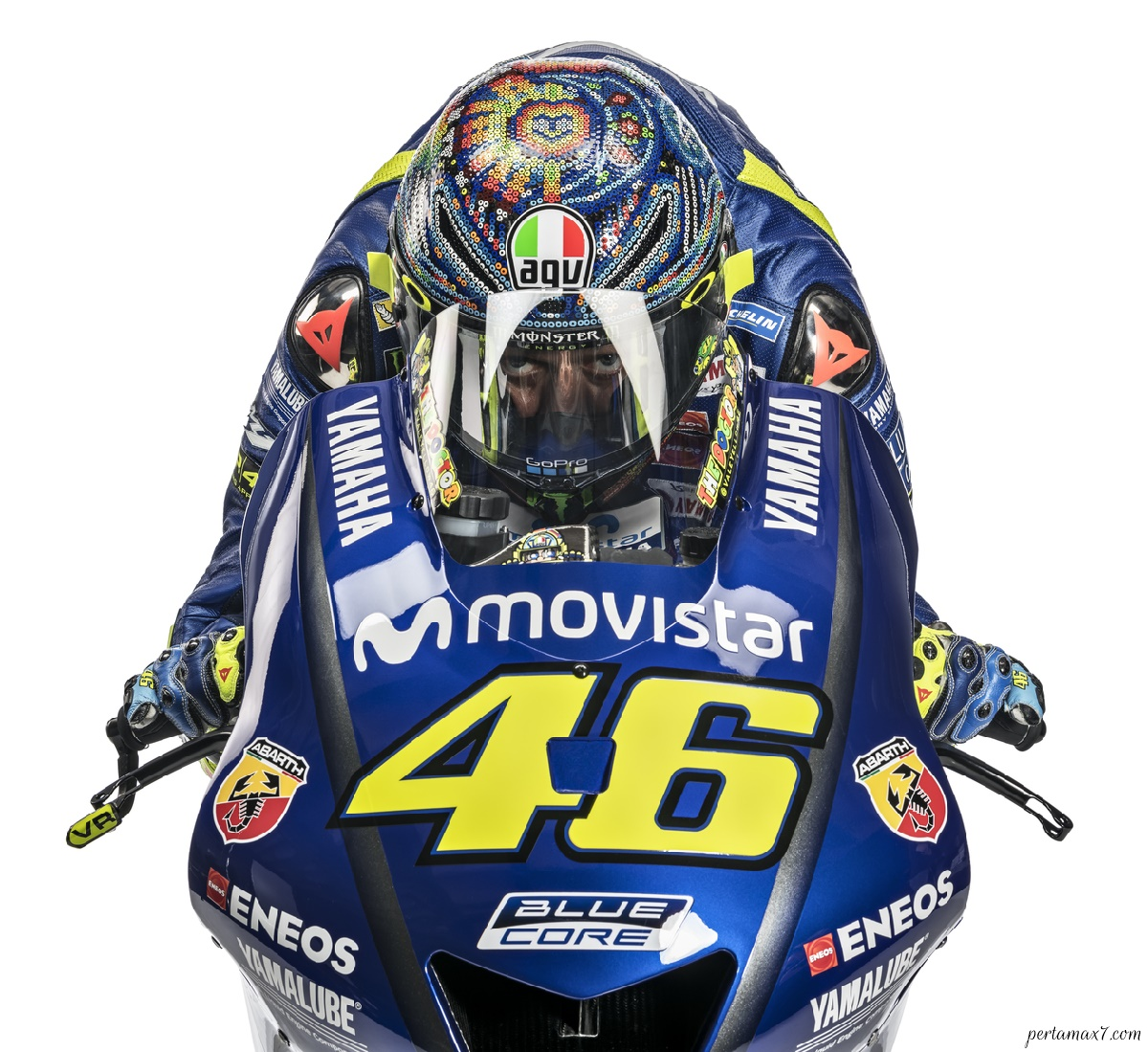 Wallpaper Valentino Rossi Movistar Yamaha MotoGP 2018 HD
