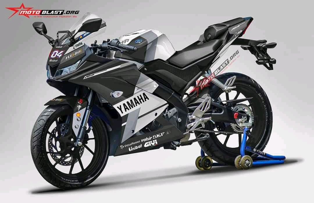 Yamaha All new R15 Livery Ducati GP.18 Black