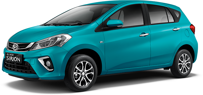Daihatsu All new Sirion 2018 Warna Hijau Peppermint green