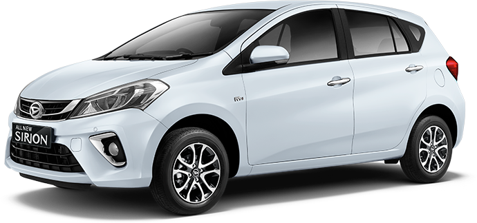 Daihatsu All new Sirion 2018 Warna Icy white