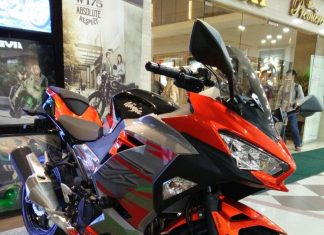 Foto Kawasaki All New Ninja 250 FI ABS Candy Burnt Orange MDP