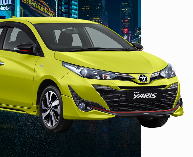 Harga Toyota New Yaris Facelift