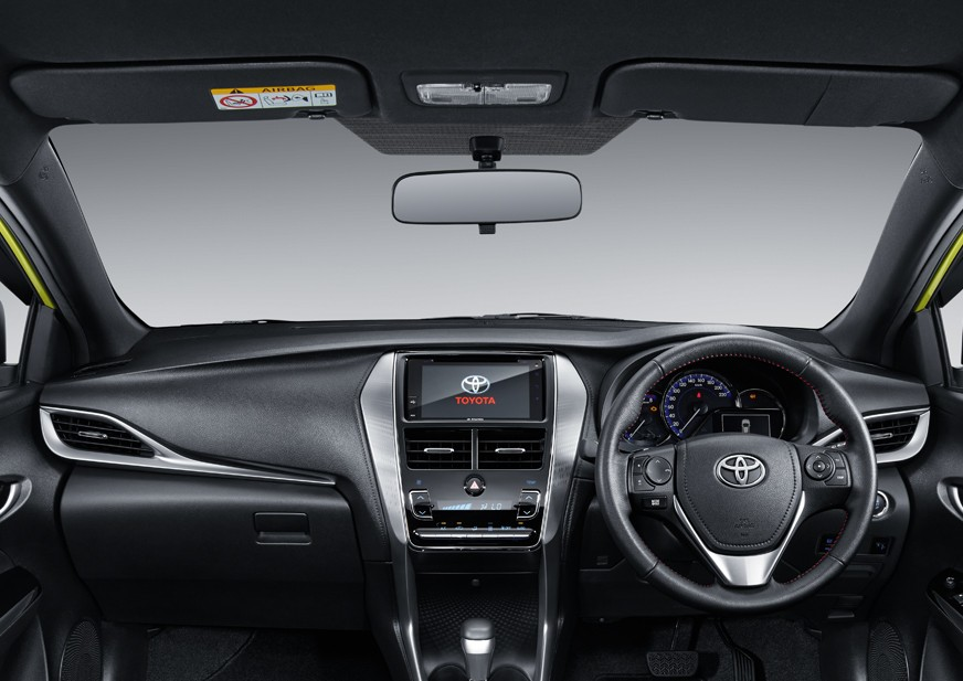 Interior New Toyota Yaris 2018