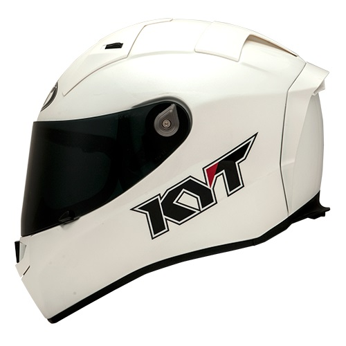 KYT Thunderflash Solid - White