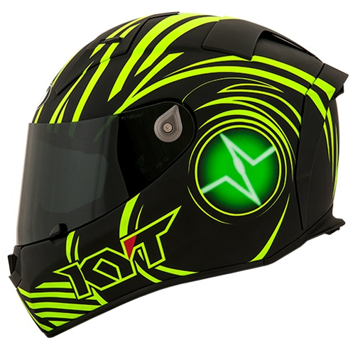 KYT Thunderflash Spark - Green