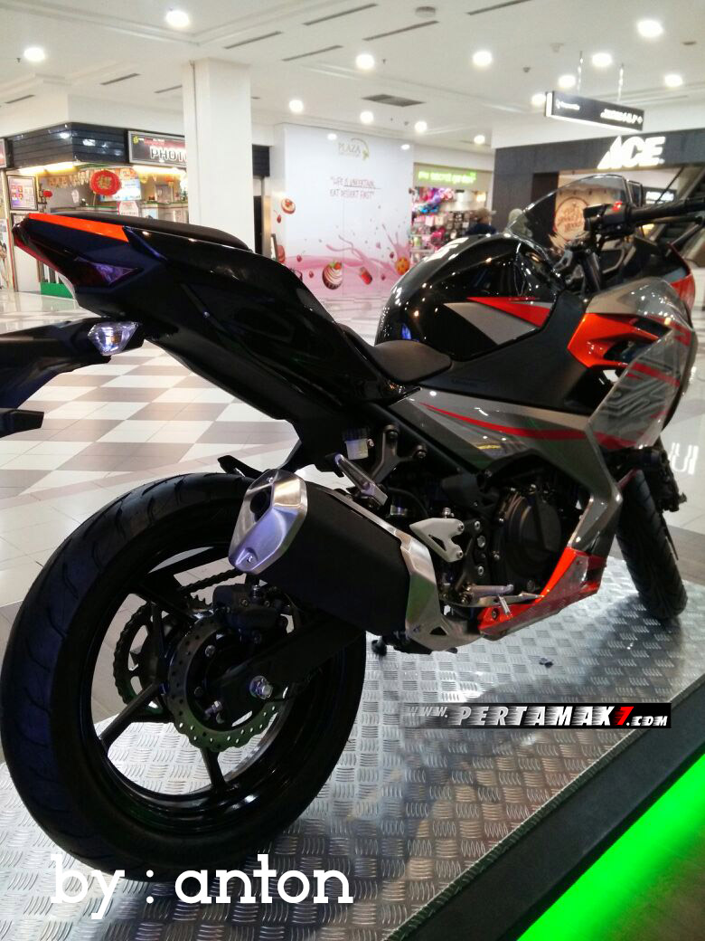Knalpot All New Kawasaki Ninja 250 FI