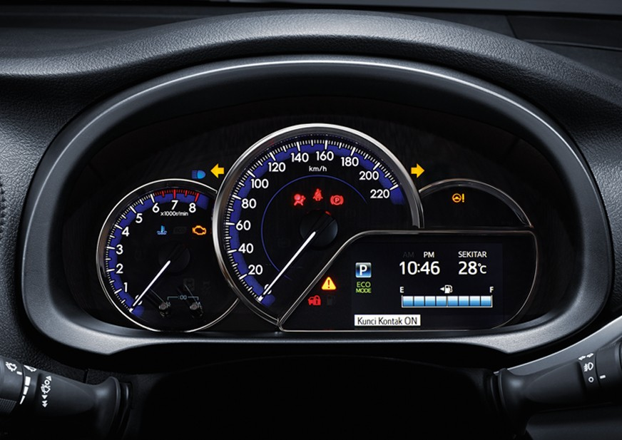 Speedometer New Toyota Yaris 2018