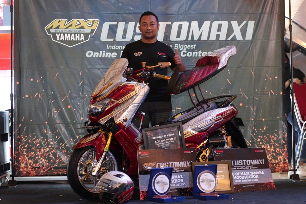 The Best Nmax Modification & King of MAXI Yamaha Modification (Agus Hadi Purwanto)