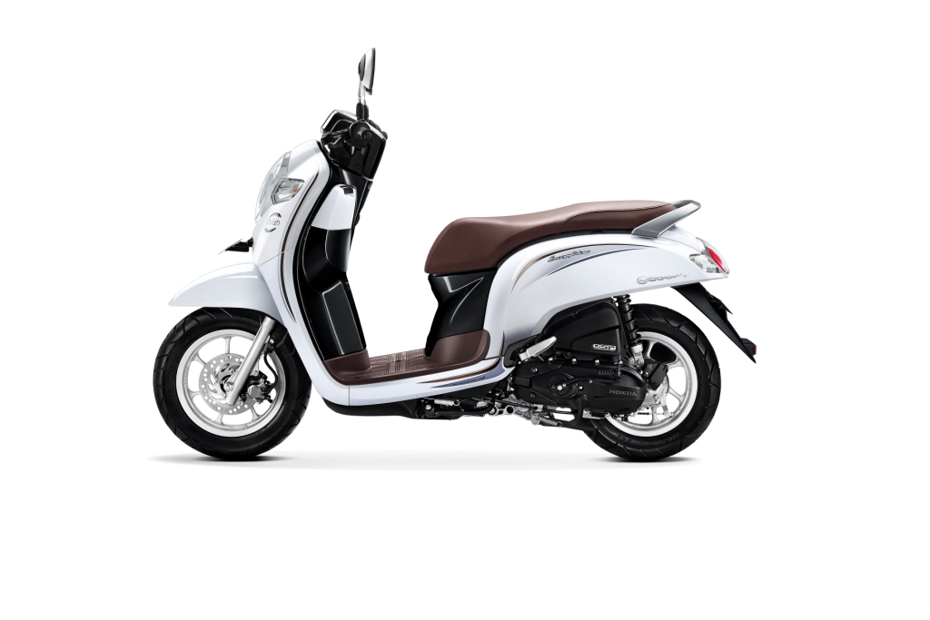 Warna Baru Honda Scoopy Versi 2018 STYLISH WHITE