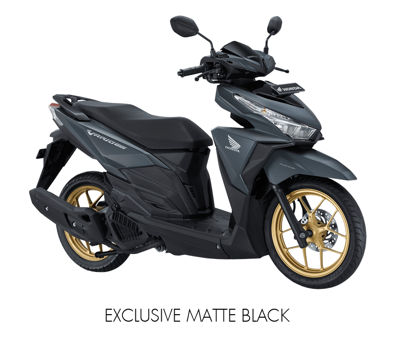 Honda Vario 150 Exclusive Matte Black Gold