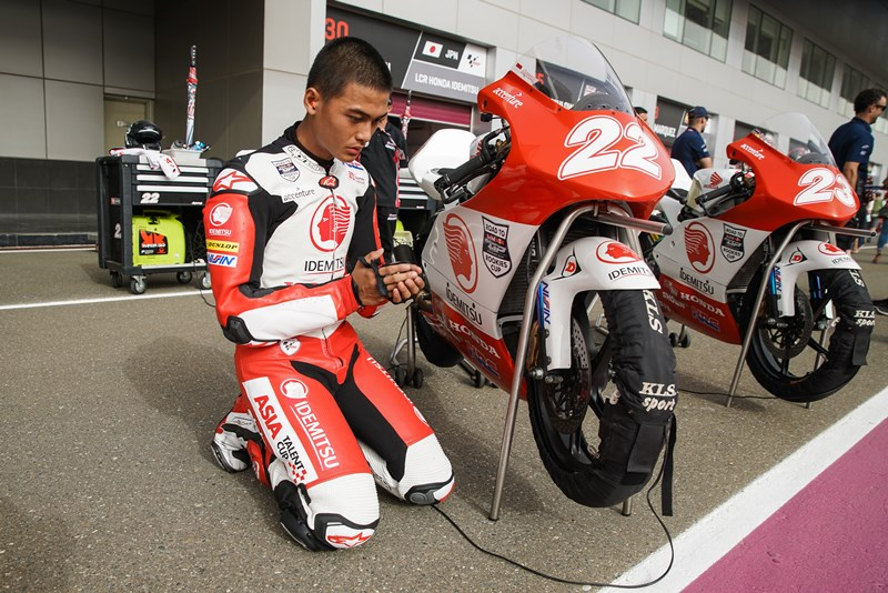 Jelang Start Race 1 Asia Talent Cup Qatar 2018