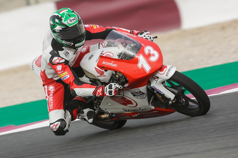 Lucky Hendriansyah 13 Race 1 Asia Talent Cup Qatar 2018 Pebalap AHRT Asia Talent Cup