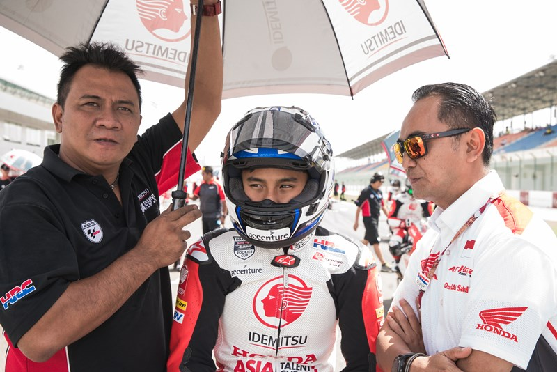 Mario SA Race 2 Asia Talent Cup Qatar 2018