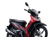 New Honda Supra X 125 Injeksi Warna merah Energetic Red