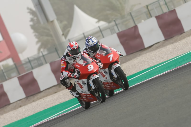 Race 1 Asia Talent Cup Qatar 2018 Mario SA 7