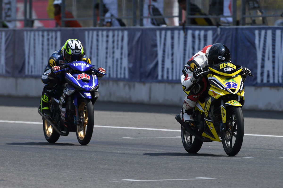 Race 2 UB150 ARRC 2018 Buriram Yamaha MX King VS Honds Supra GTR