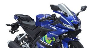 Upside Down Yamaha All New R15 Movistar Versi 2018 Warna Hitam