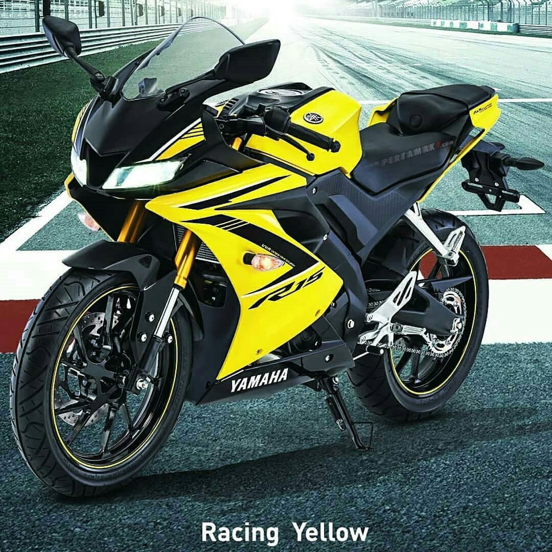 Yamaha All new R15 Warna Kuning Racing Yellow 2018