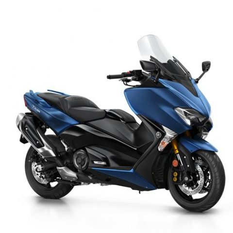 Yamaha TMAX DX 2018 Biru Phantom Blue P7