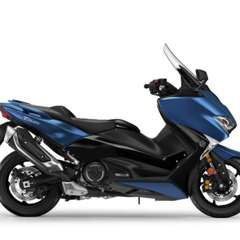 Yamaha TMAX DX 2018 warna Biru Phantom Blue P7