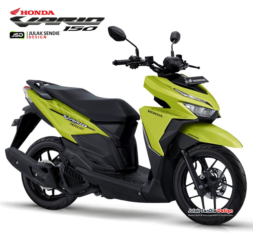 All New Honda Vario 150 Street Digimods Julak Sendie Design