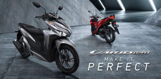 All new Honda Vario 150 MY 2018 Make It Perfect