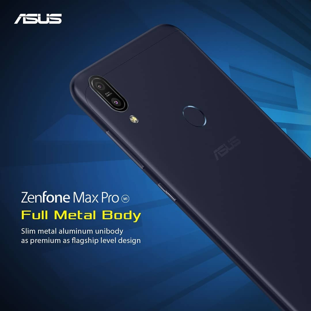 Asus ZenFone Max Pro M1 Full Metal Body