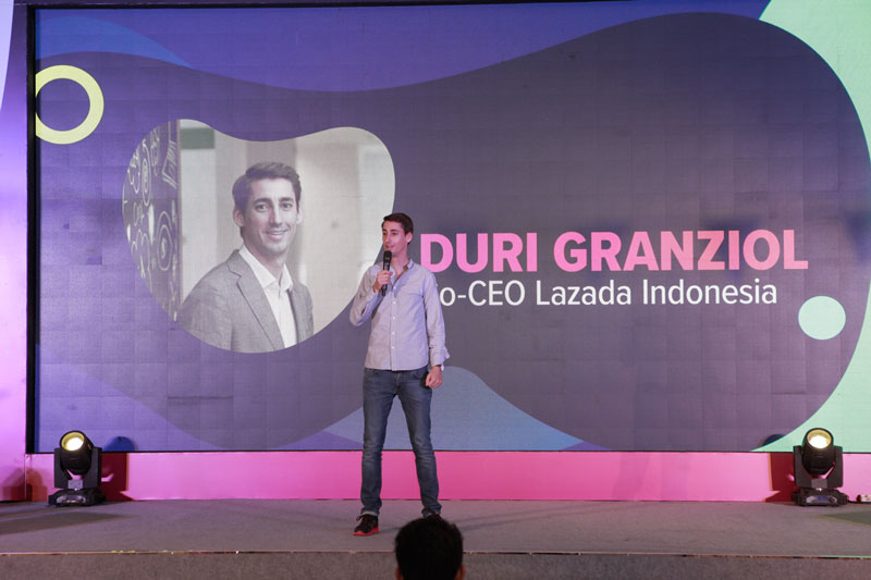DURI GRANZIOL, CO-CEO Lazada di Indonesia