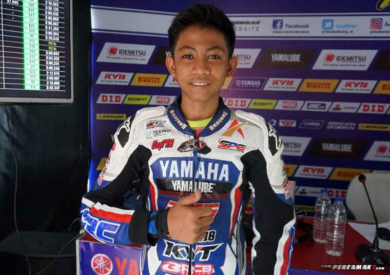 Fahmi Basam All New R15 Idemitsu Junior Pro