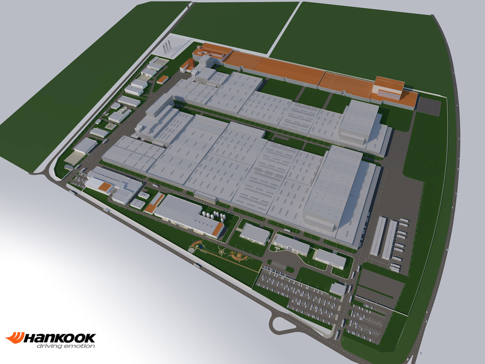 Hankook Tire Hungarian Plant
