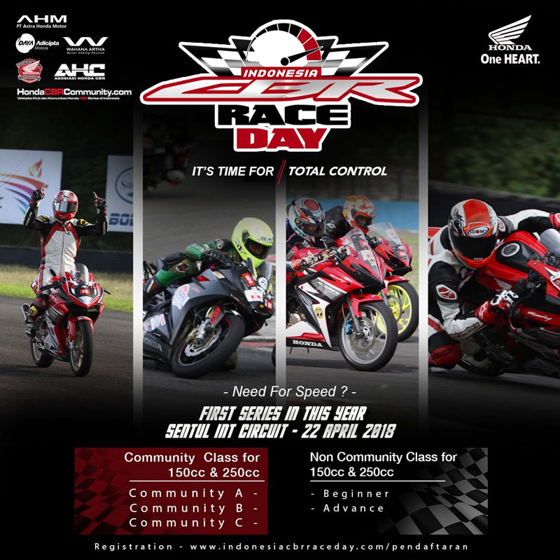 Indonesia Honda CBR Race Day 2018