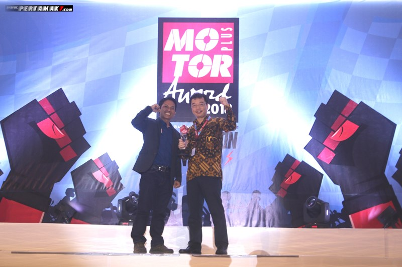 Konsistensi Suzuki All New Satria F150 Motor Plus Award 2018 02 P7