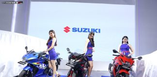 Launching Minor Facelift Suzuki GSX-R150 Striping 2018