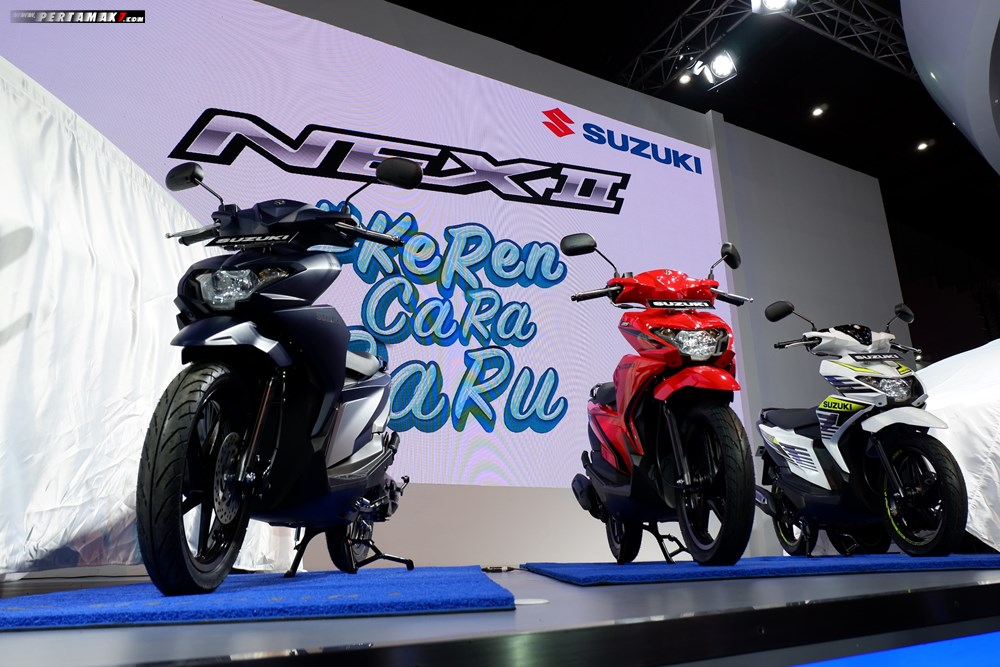 Soft Launching New Suzuki NEX II Indonesia