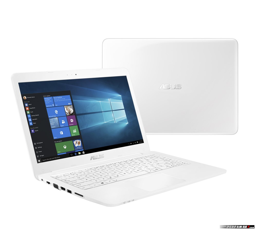 Notebook ASUS E402WA Warna Putih