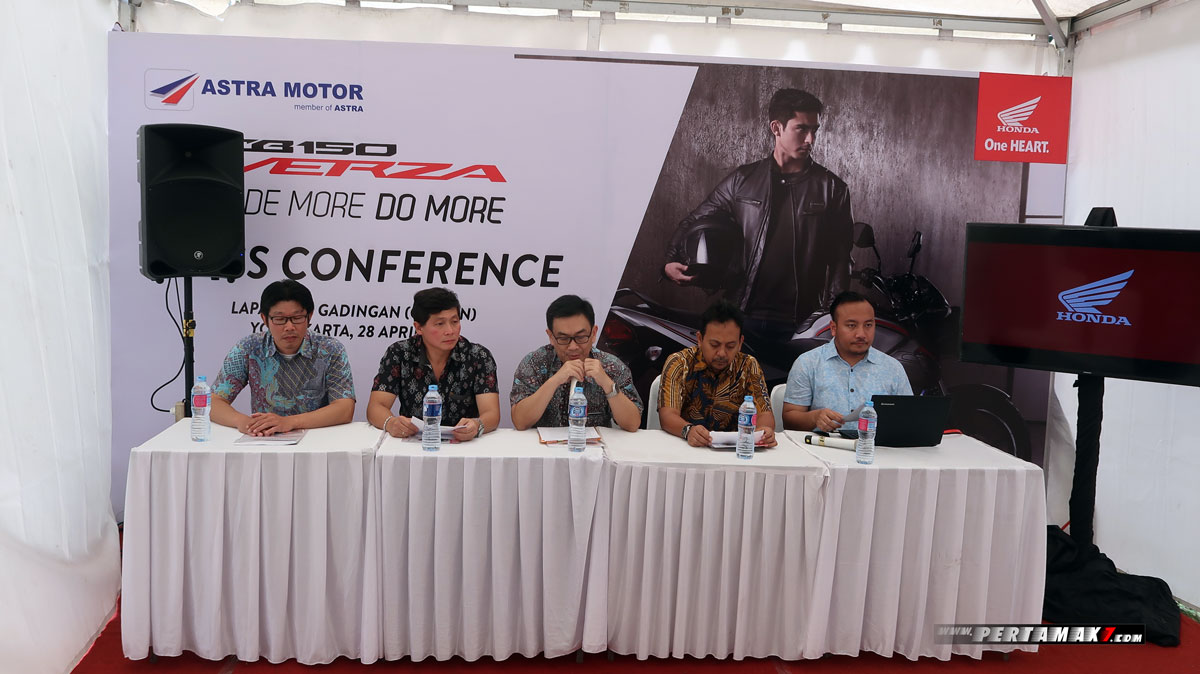 Press Conference Launching Honda CB150 Verza Yogyakarta