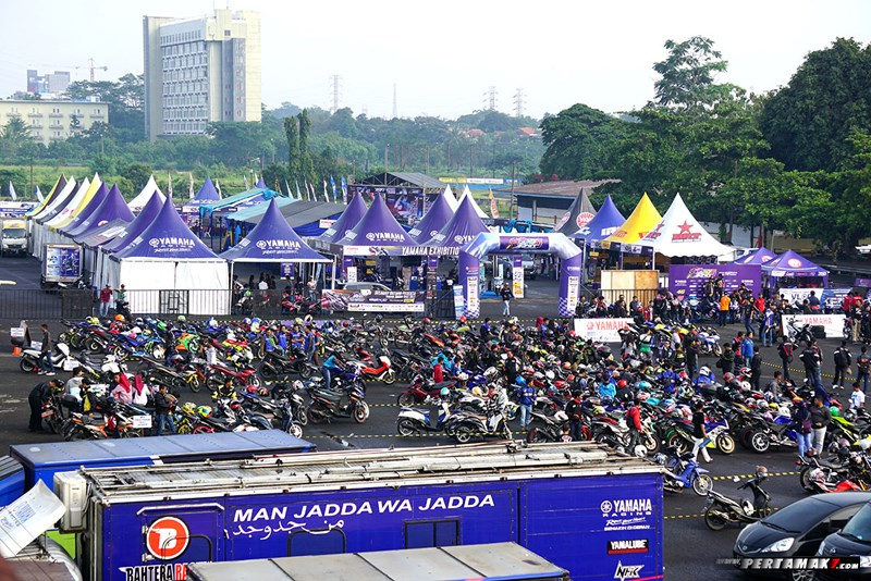 Seri Pembuka Yamaha Sunday Race 2018 Exhibition Area