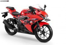 Suzuki GSX-R150 Keyless Ignition - Stronger Red-Solid Black
