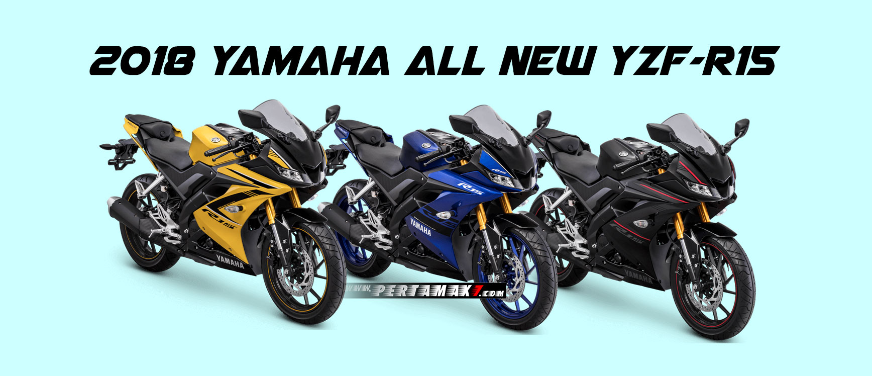 Yamaha All New R15 Moge Look versi 2018 terbaru